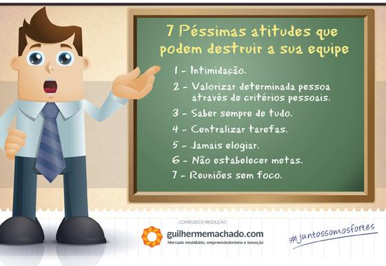7 Péssimas Atitudes Que Podem Destruir A Sua Equipe Palestrante