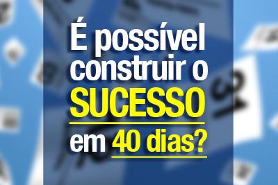 Workshop online - Seja um corretor de sucesso em 40 dias