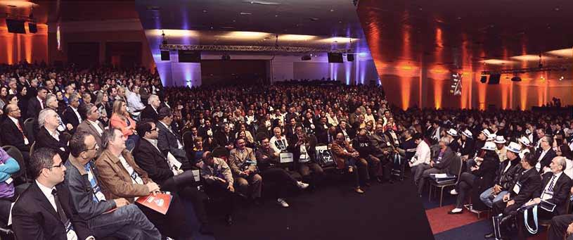 Audiência do V ENBRACI 2013 - Palestra Guilherme Machado