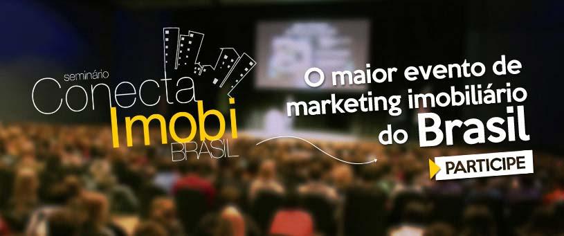 Participe do maior evento de marketing imobiliário do Brasil