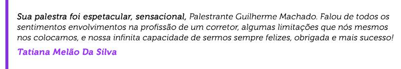 Curso corretor de imóveis: depoimento Tatiana Melão