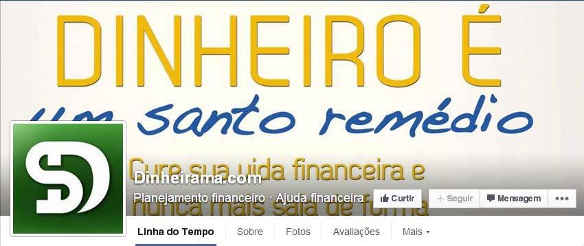 Página do Facebook Dinheirama