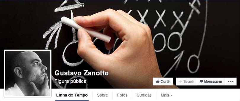Página do Facebook Gustavo Zanotto