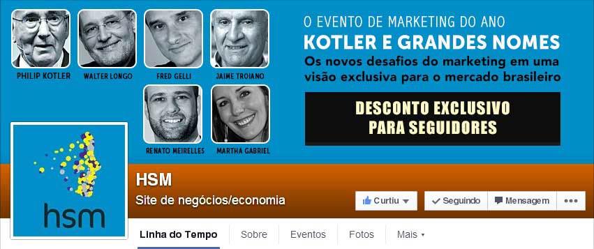 Página Facebook HSM