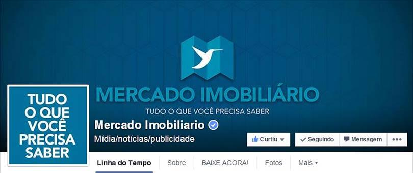 Página Facebook Publicidade Imobiliária