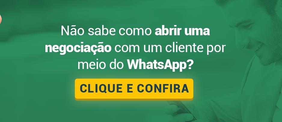 Vendas com WhatsApp no mercado imobiliário